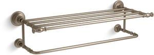 Kohler Artifacts® 24 in. Towel Bar in Vibrant Brushed Bronze K72575-BV