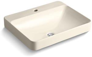 Kohler Vox® 1-Bowl Rectangle Vessel with Faucet Deck K2660-1