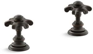 Kohler Artifacts® Deckmount Bath Prong Handle Trim KT98071-3M