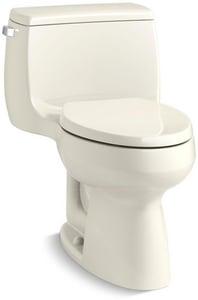 Strange Kohler Gabrielle 1 28 Gpf Elongated One Piece Toilet In Inzonedesignstudio Interior Chair Design Inzonedesignstudiocom