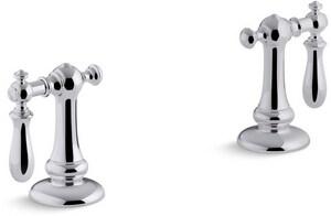 Kohler Artifacts® Bathroom Sink Swing Lever Handle in Polished Chrome K98068-9M