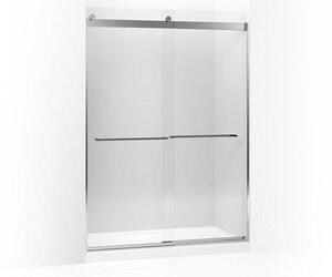 Kohler Levity® Rear Sliding Glass Panel and Assembly Kit for Shower Door in Bright Polished Silver K706119-L-SHP