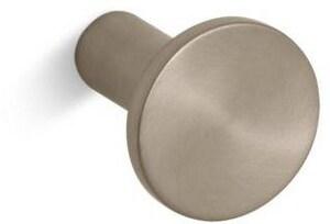 KOHLER Purist® Cabinet Knob Vibrant Brushed Bronze K14484-BV