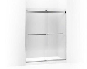Kohler Levity® Front Sliding Glass Panel and Assembly Kit for Shower Door in Bright Polished Silver K706218-L-SHP