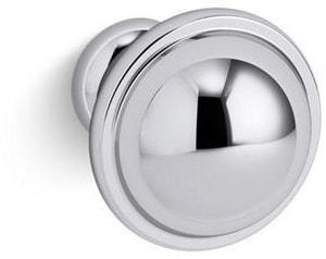 KOHLER Damask® 1 in. Knob in Polished Chrome K99686-HF1