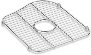 Kohler Staccato Bottom Grid Sink Rack For Right Hand Bowl In Stainless Steel 5117 St Ferguson