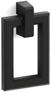 KOHLER Poplin® Rectangular Pull in Black K99687-HF3