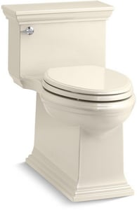 Kohler Memoirs® Stately 1.28 gpf Elongated One Piece Toilet in Almond K6428-47