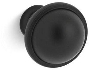 Kohler Damask® Black Knob K99686-HF3