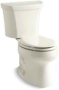 KOHLER Wellworth® 1.6 gpf Elongated Toilet in Biscuit K3988-RA-96