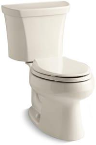 KOHLER Wellworth® 1.6 gpf Elongated Toilet in Almond K3988-RA-47
