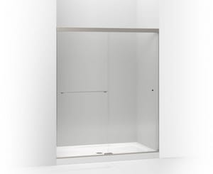 KOHLER Revel™ Sliding Shower Door in Anodized Brushed Nickel K707206-L-BNK
