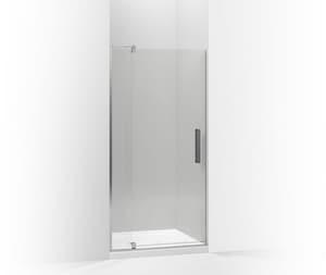 KOHLER Revel™ Frameless Pivot Shower Door in Bright Polished Silver K707531-L-SHP