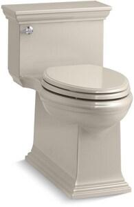 Kohler Memoirs® Stately 1.28 gpf Elongated One Piece Toilet in Sandbar K6428-G9
