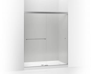 Kohler Revel™ Clear Bypass Shower Door in Bright Polished Silver K707200-L