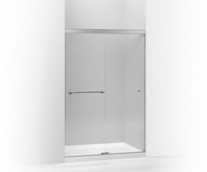 KOHLER Revel™ 76 in. Clear Bypass Shower Door in Bright Polished Silver K707106-L-SHP