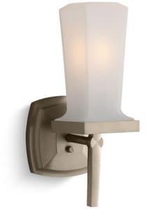 Kohler Margaux® 60W 1-Light Bath Light in Vibrant Brushed Bronze K16268-BV
