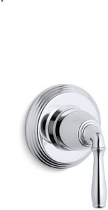 Kohler Devonshire® Transfer Valve Trim with Single Lever Handle in Polished Chrome KT376-4