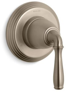 Kohler Devonshire® Transfer Valve Trim with Single Lever Handle in Vibrant Brushed Bronze KT376-4-BV