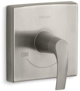 Kohler Symbol® Thermostatic Valve Trim in Vibrant Brushed Nickel KT18090-4-BN