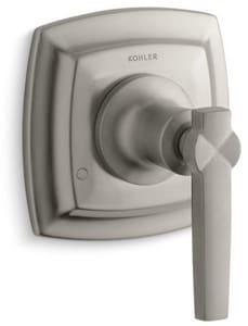 Kohler Margaux® Transfer Valve Trim with Single Lever Handle in Vibrant Brushed Nickel KT16242-4-BN