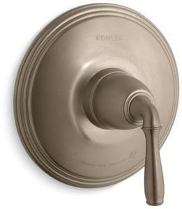 Kohler Devonshire® Single Handle Bathtub & Shower Faucet in Vibrant® Brushed Bronze (Trim Only) KT10357-4-BV