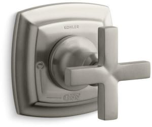Kohler Margaux® Volume Control Valve Trim with Single Cross Handle in Vibrant Brushed Nickel KT16241-3-BN