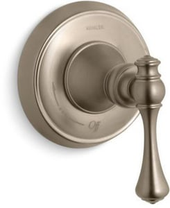 KOHLER Revival® Single Handle Bathtub & Shower Faucet in Vibrant® Brushed Bronze (Trim Only) KT16177-4A-BV