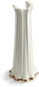 Kohler Prairie Flowers Vitreous China Pedestal in White K14267-WF-96