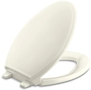 Kohler Glenbury™ Quiet-Close™ Elongated Closed Front Toilet Seat in Biscuit K4733-96