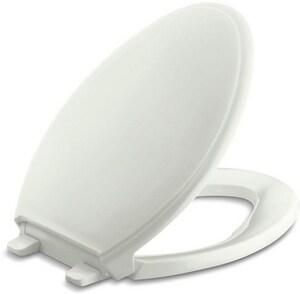 KOHLER Glenbury™ Quiet-Close™ Elongated Closed Front Toilet Seat in Dune K4733-NY