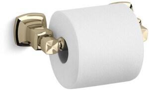 Kohler Margaux® Wall Mount Toilet Tissue Holder in Vibrant French Gold K16265-AF