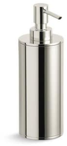 KOHLER Purist® Countertop Soap and Lotion Dispenser in Vibrant® Polished Nickel K14379-SN