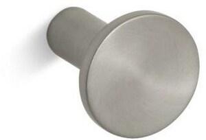 KOHLER Purist® Cabinet Knob in Vibrant Brushed Nickel K14484-BN
