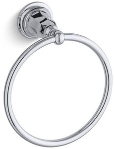 KOHLER Kelston® Round Closed Towel Ring in Polished Chrome K13507-CP