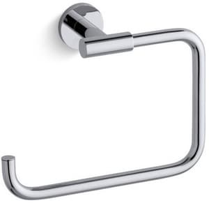 Kohler Stillness® Rectangular Open Towel Ring in Polished Chrome K14456