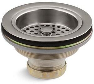 KOHLER Duostrainer® Sink Strainer (Less Tailpiece) in Vibrant Stainless K8799-VS