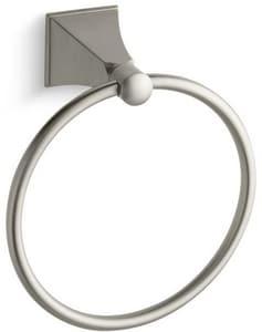 Kohler Memoirs® Round Closed Towel Ring in Vibrant Brushed Nickel K487-BN