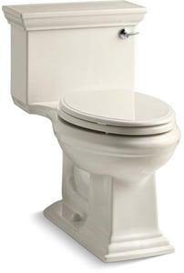Kohler Memoirs® Stately 1.28 gpf Elongated Toilet in Almond with Right-Hand Trip Lever K3813-RA-47