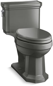 Kohler Kathryn® 1.28 gpf Elongated Floor Mount One Piece Toilet in Thunder™ Grey K3940-58