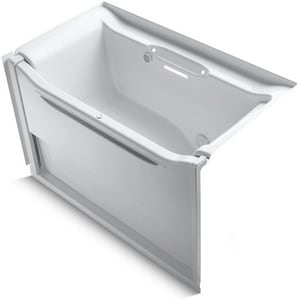 Kohler Elevance® 60-1/4 x 33-1/2 in. Bathtub with Right Hand Drain in White K1914-GRW-0