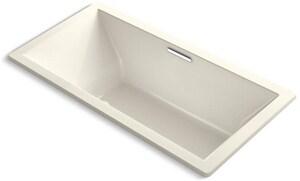 Kohler Underscore® 72 x 36 in. Drop-In Air Bathtub with Center Drain K1835-G