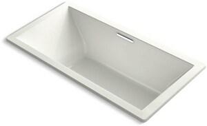 KOHLER Underscore® 72 x 36 in. Drop-In Bathtub with Center Drain in Dune K1834-NY