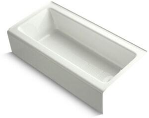 KOHLER Bellwether® 60 x 30-1/4 in. Soaker Alcove Bathtub Right Drain in Dune K838-NY