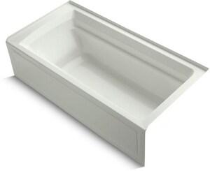 Kohler Archer® 72 x 36 in. Soaker Alcove Bathtub Right Drain in Dune K1125-RA-NY