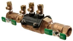 Zurn Wilkins Model 350XL 3/4 in. Epoxy Coated Buna-N Cast Bronze Threaded 175 psi Backflow Preventer W350XLSF at Pollardwater