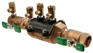 Zurn Wilkins Model 350XL 1 in. Cast Bronze Threaded 175 psi Backflow Preventer W350LXLDMFTG at Pollardwater