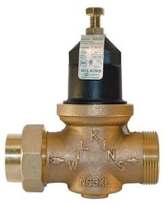 Zurn Wilkins Model NR3XL 3/4 in. 75# 400 psi Cast Bronze, Plastic and Buna-N Double Union FNPT x Male PEX Pressure Reducing Valve WNR3XLDUPEXF