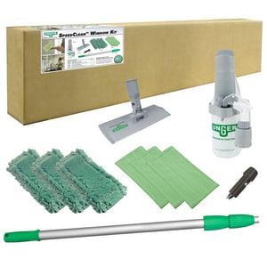 Unger SpeedClean™ 10 Piece Indoor Window Cleaning Kit UCK053 at Pollardwater