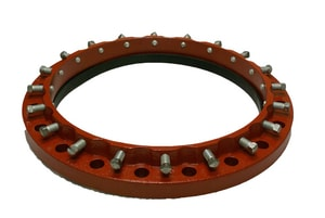 Sigma Zip Flange™ 4 in. Ductile Iron Standard Duty Restraint Flange SZF2C4 at Pollardwater